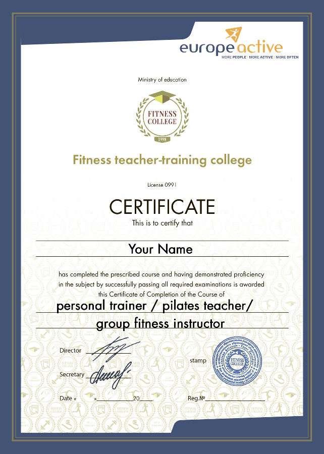 Международное обучение фитнес тренеров инструкторов Получение  Наши менеджеры помогут определиться с выбором
